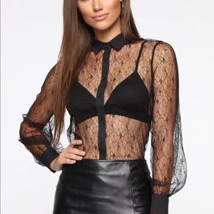 Fashionova Sheer Pleasure Top